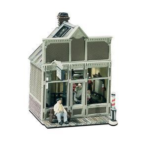 フロイドの理髪店(床屋) :ウッドランド 未塗装キット HO(1/87) M111|sakatsu