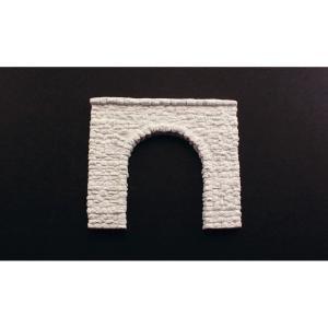 トンネルポータル :ウッドランド 未塗装キット HO(1/87) C1255 sakatsu