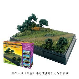 基本ジオラマキット 入門用 英文 ノンスケール(BASIC DIORAMA KIT) :ウッドランド キット ノンスケール SP4110|sakatsu