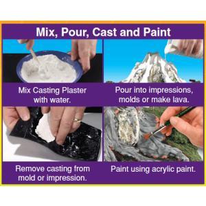 石膏(CASTING PLASTER) 小 :ウッドランド 素材 ノンスケール SP4141|sakatsu|02