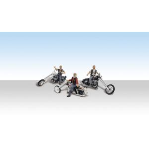 カスタム・チョッパーバイク :ウッドランド 塗装済完成品 HO(1/87) AS5554|sakatsu
