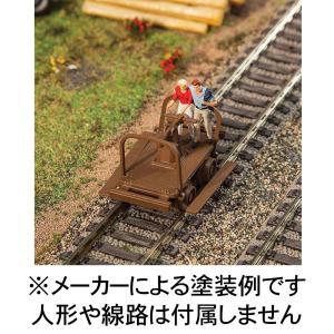 手押しトロッコ(ハンドカー) :ウォルサーズ 未塗装キット HO(1/87) 4145 sakatsu