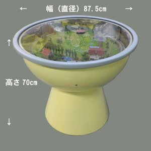 ジオラマテーブル 「楽しい高原列車」 :アトリエ・ゼロ 塗装済完成品 N(1/150)|sakatsu|02