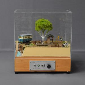 「高原鉄道」(車輌付き) 超ミニレイアウト 9mm HOナロー :昭和浪漫堂 塗装済完成品 1/87 スケール|sakatsu