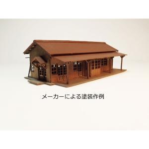 小和田駅タイプ駅舎キット Nスケール仕様 :Chitetsu Corporation(宮下洋一) 未塗装キット N(1/150) 99970000009