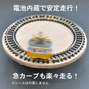 電池内蔵自走式 ミニミニトレイン <クマ電・金太郎> :石川宜明 塗装済完成品 N(1/150)|sakatsu|04