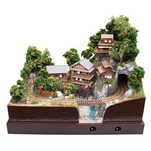 参の渓温泉 電気軌道 :山尾比呂士 塗装済完成品 1/150サイズ|sakatsu