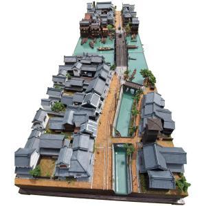 東京下町の路面電車モジュール1+2 :山尾比呂士 塗装済完成品 1/150サイズ|sakatsu