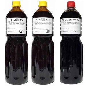 トリイソースペットボトル 1.8リットル ウスター1本&中濃2本セット