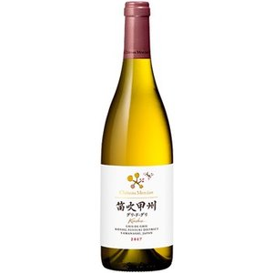 話題の国産ワイン シャトー メルシャン 笛吹甲州 グリ ド グリ 2018 750ml ワイン