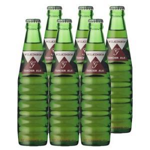 アサヒ ウィルキンソン ジンジャエール (辛口) 瓶 190ml ×6本セット 送料無料 (北海道・...