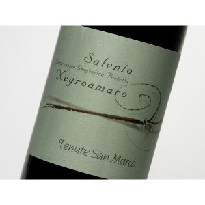 カンティーネ・ドゥエ・パルメ テヌーテ・サン・マルコ ロッソサレント ネグロアマーロ 750ml (ワイン)...