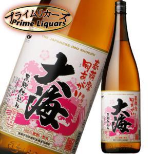 大海黒麹 春薩摩 旬あがり 1800ml sake-abc