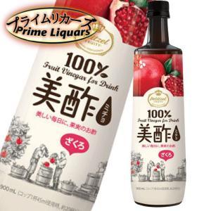 美酢 ミチョ ざくろ 900ml sake-abc