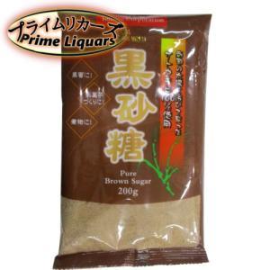 トマトコーポレーション 黒砂糖 200g|sake-abc
