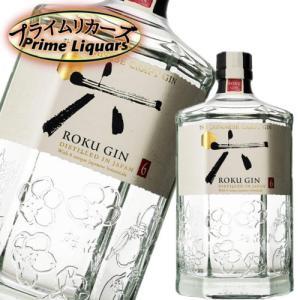 サントリー ジャパニーズ クラフトジン ROKU 六 700ml|sake-abc