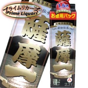 若松 薩摩一 芋 25度 2.7Lパック|sake-abc