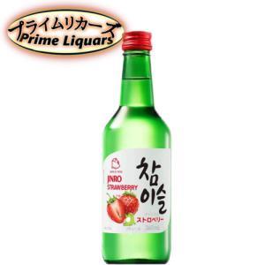眞露 チャミスル ストロベリー 360ml sake-abc
