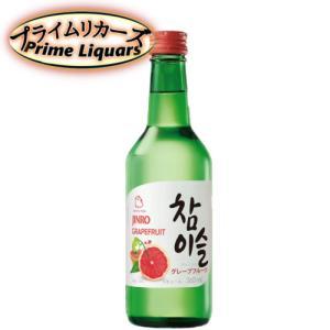 眞露 チャミスル グレープフルーツ 360ml sake-abc