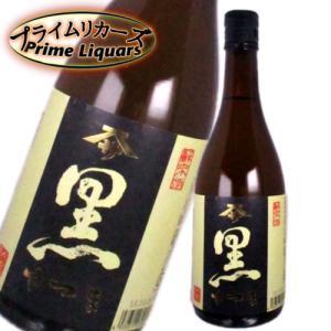 芋焼酎 黒さつま 720ml|sake-abc