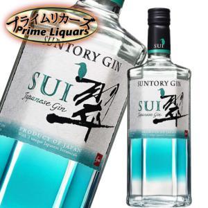 サントリー Japanese Gin SUI 翠 700ml|sake-abc