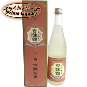 香住鶴 山廃吟醸純米 720ml|sake-abc