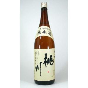 キャッシュレス5%還元 桃川 純米酒 1800mlお歳暮 クリスマス sake-gets