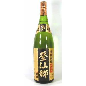 キャッシュレス5%還元 秋田銘醸 純米酒 登仙郷 1800mlお歳暮 クリスマス sake-gets