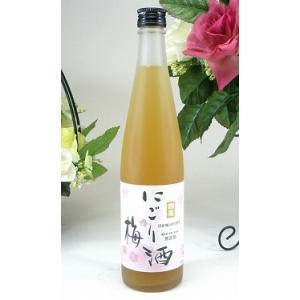 中埜酒造 にごり梅酒 500ml|sake-gets