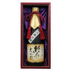 贈り物 越後杜氏の里 純米大吟醸原酒(純米大吟醸原酒720ml×1)バレンタイン|sake-gets