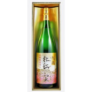 贈り物 越後杜氏の里 吟醸金箔入り(金箔入り吟醸1800ml×1)バレンタイン|sake-gets