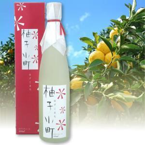 壱岐焼酎 ゆずリキュール 柚子小町 500mlバレンタイン|sake-gets
