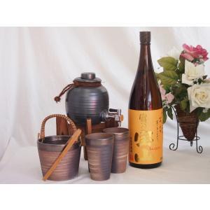 焼酎サーバー全セット版(西酒造 芋焼酎 薩摩宝山 1800ml )焼酎ギフト|sake-gets