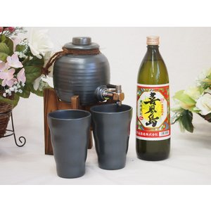 焼酎サーバー豪華セット(黒糖焼酎 喜界島900ml)A5焼酎ギフト!|sake-gets