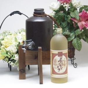 焼酎サーバーセット(限定品 長期貯蔵麦焼酎 夢のひととき 25度720ml )|sake-gets