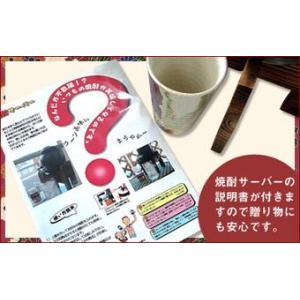 焼酎サーバー豪華セット(限定品 井上酒造 夢のひととき 25度 720ml ) sake-gets 02