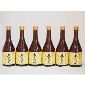 白扇酒造 国産のもち米と米麹 福来純 伝統製法熟成本みりん(岐阜県) 500ml×6|sake-gets