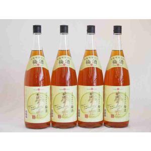 国産梅100%使用 本格焼酎仕込み梅酒 夢の実 神楽酒造(宮崎県)1800ml×4 sake-gets