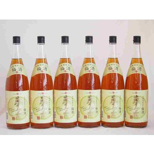 国産梅100%使用 本格焼酎仕込み梅酒 夢の実 神楽酒造(宮崎県)1800ml×6 sake-gets