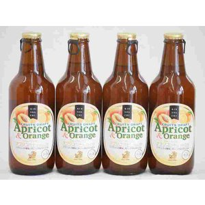 フルーツドラフト アプリコット&オレンジ 発泡酒 金しゃちビール(愛知県)330ml×4本 sake-gets