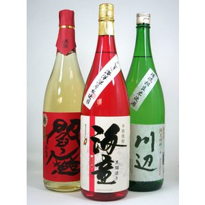 贈り物 厳選 人気焼酎(芋、米、麦) バラエティー3本セット 1800ml×3本 飲み比べ 福袋|sake-gets