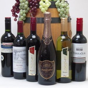 ワインセット ドンペリに勝った噂のロジャー グラート +ワインが5本セット!バレンタイン|sake-gets