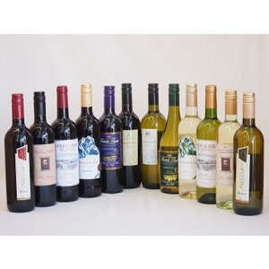 ワインセット 12本 赤ワイン 白ワイン こんなセットが欲しかった高品質12本ワインセット(赤6本、白6本)750ml×12本|sake-gets