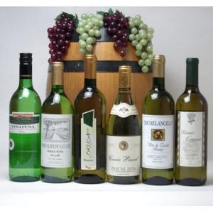 ワインセット セレクション 白ワイン 6本セット ( スペインワイン 1本 フランスワイン 2本 イタリアワイン 2本 チリワイバレンタイン|sake-gets