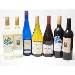 緊急福袋10セット福袋 送料無料★高品質ワイン(赤3本、白4本)750ml×7本|sake-gets