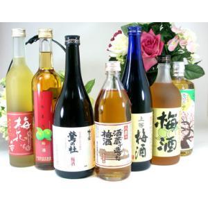 酒蔵の造った梅酒が飲みたかったぁ 飲み比べ送料込み7本セット|sake-gets