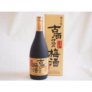 沢の鶴 古酒仕込み梅酒 720ml|sake-gets