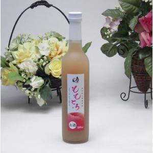 完熟桃のとろとろ感が口いっぱいに広がる桃リキュール ももとろ500ml 7%奥の松酒造(福島県)バレンタイン|sake-gets