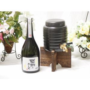 緊急福袋10セット限定 焼酎サーバーセット(濱田酒造 芋焼酎 感謝のきもち 25度 720ml)|sake-gets