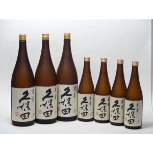 久保田7本セット 朝日酒造 久保田(萬寿1800×3本 萬寿720×4本)  母の日 父の日|sake-gets